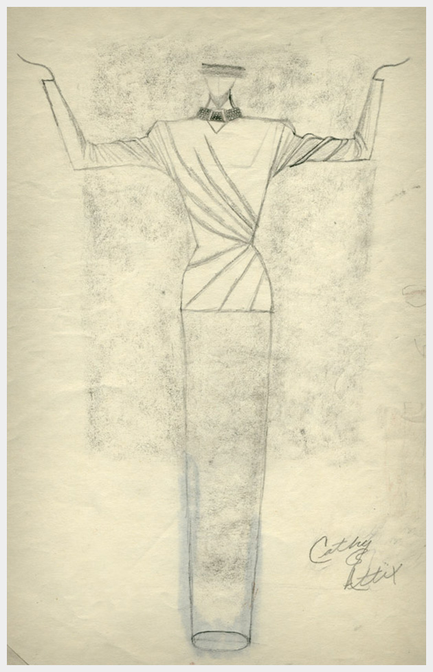 1980's Fashion Illustration