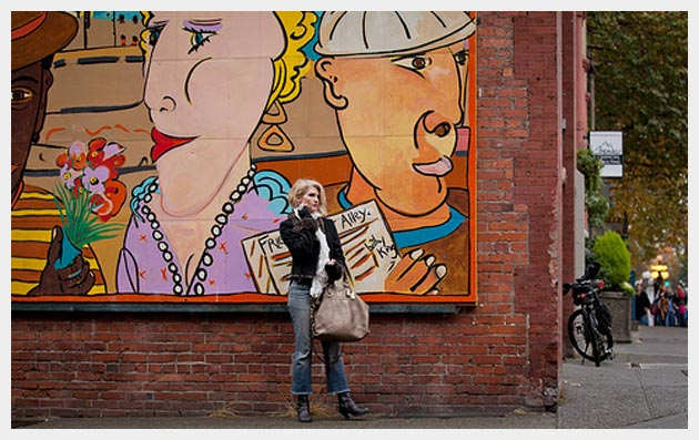 Fall Fashion Seattle and Street Art