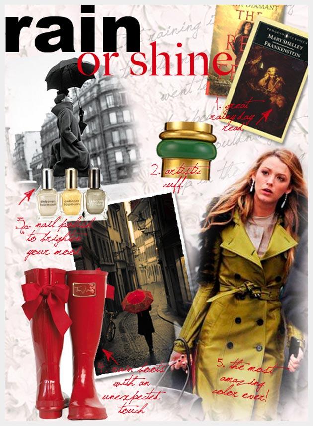Rainy Day Fashion