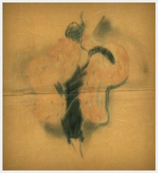 Fashion Illustration on Velvet Paper