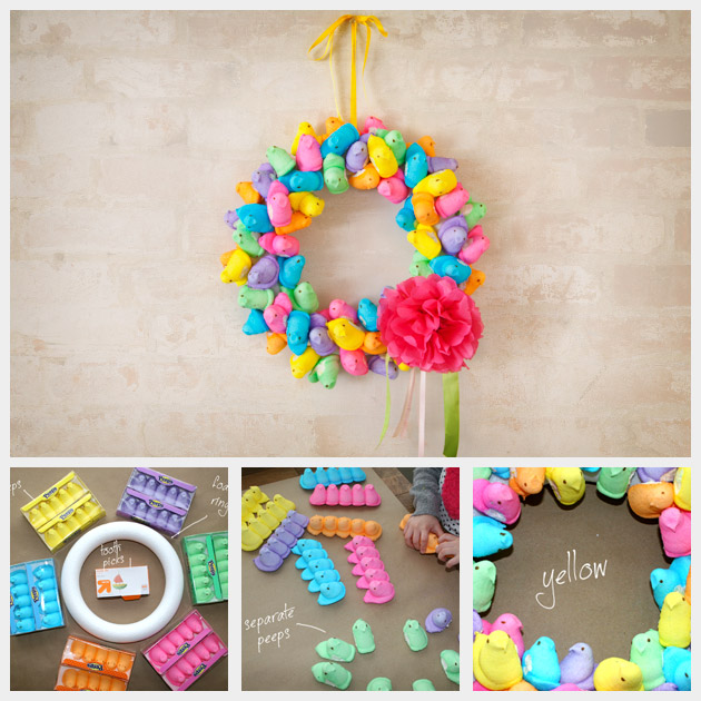 Peep Wreath DIY