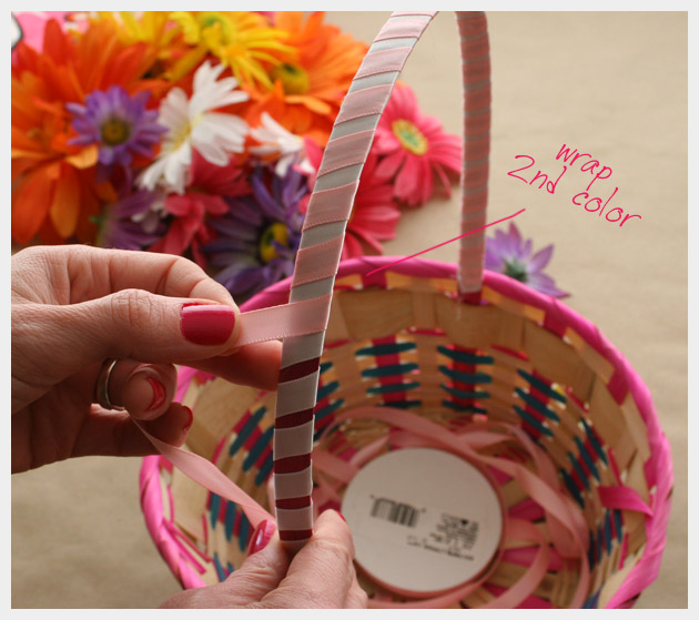 Floral Easter Basket DIY
