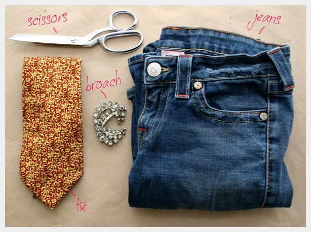 Recycled Jeans Bag DIY