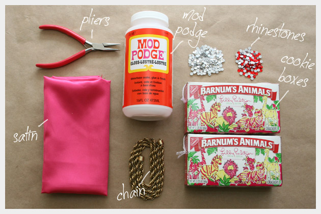Supplies To Make Your Lilly Pulitzer Minaudiere