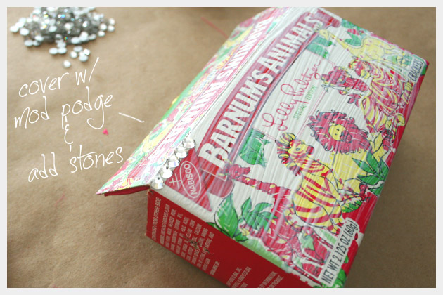 DIY Project Lilly Pulitzer Cookie Box Minaudiere