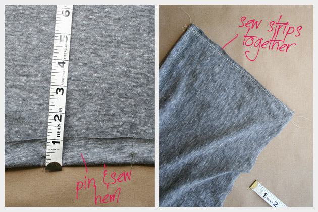 DIY Fashion T Shirt Dress