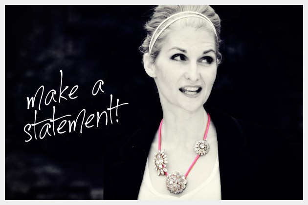 DIY Statement Necklaces Tutorial
