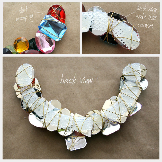 Wire Wrapped Large Stone Necklace How to