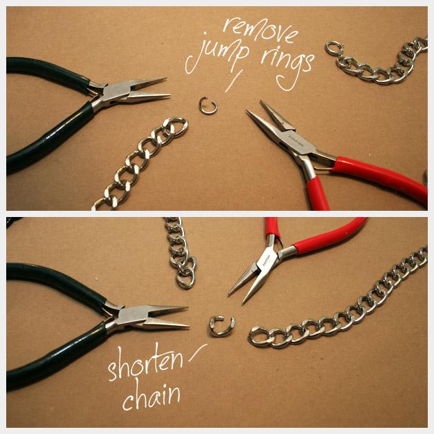 Chain Belt Necklace DIY Tutorial