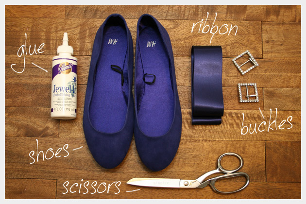 Puritan Ballerina Flats DIY Supplies