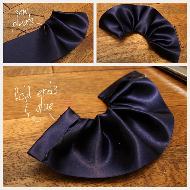Puritan Ballerina Flats DIY Ruffle