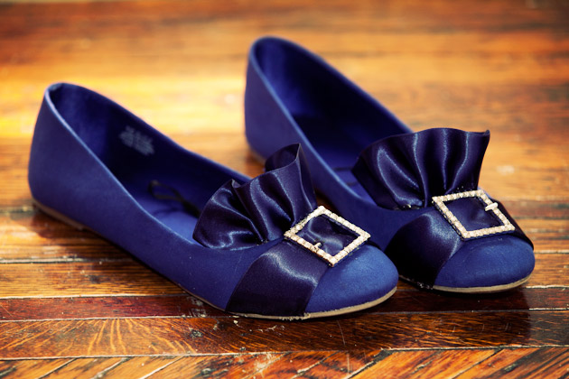 DIY Puritain Ballerina Flats