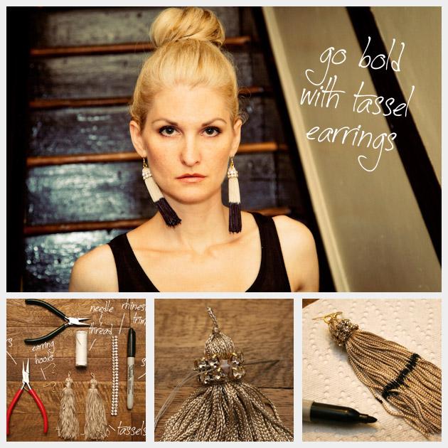 DIY Tassel Earrings Feature