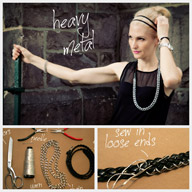 Chain Belt Necklace DIY