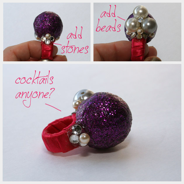 Cocktail Ring DIY Tutorial