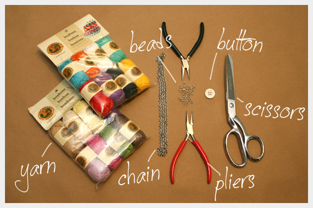 DIY Bracelets in Bonbons Supplies