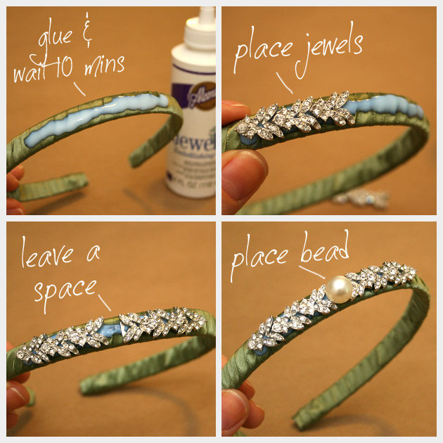 DIY Jeweled Headband Jewels