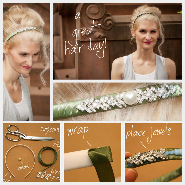 DIY Jeweled Headband Feature