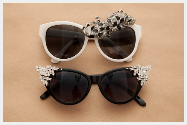 DIY Rhinestone Sunglasses Final