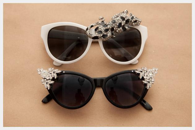 DIY Rhinestone Sunglasses Final