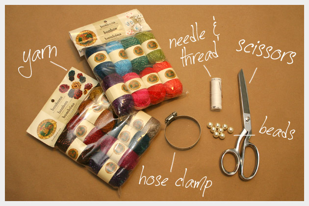 Wrapped and Beaded DIY Bracelet Supplies