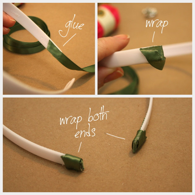 DIY Wrapped Headband