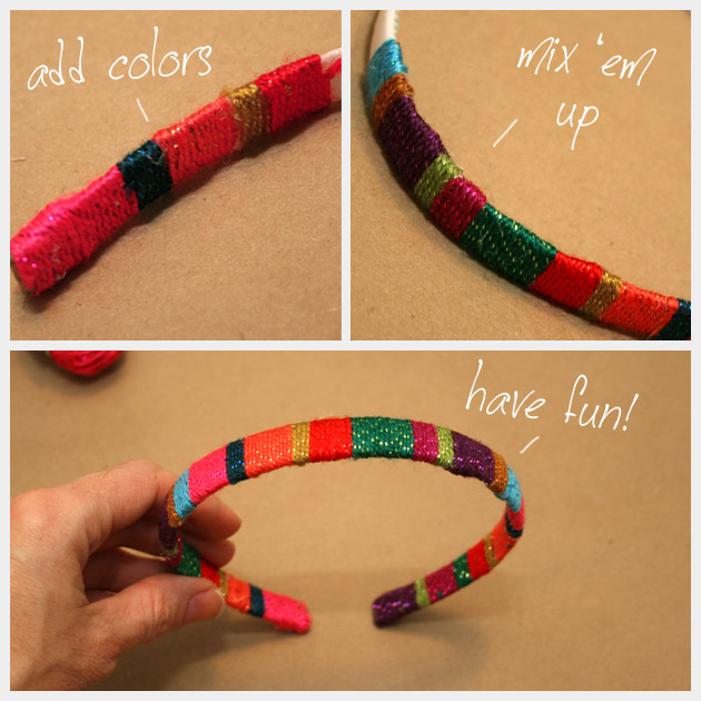 How to make a DIY Wrapped Headband