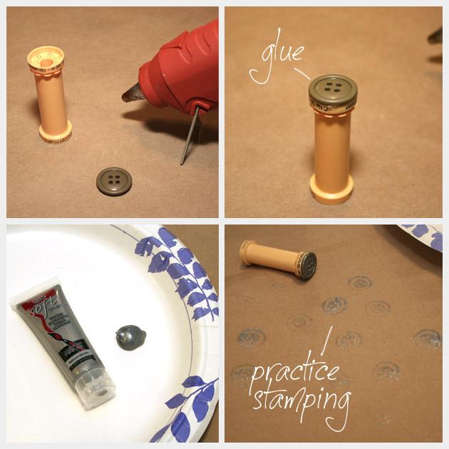 Dip Dye T Shirt Stamping