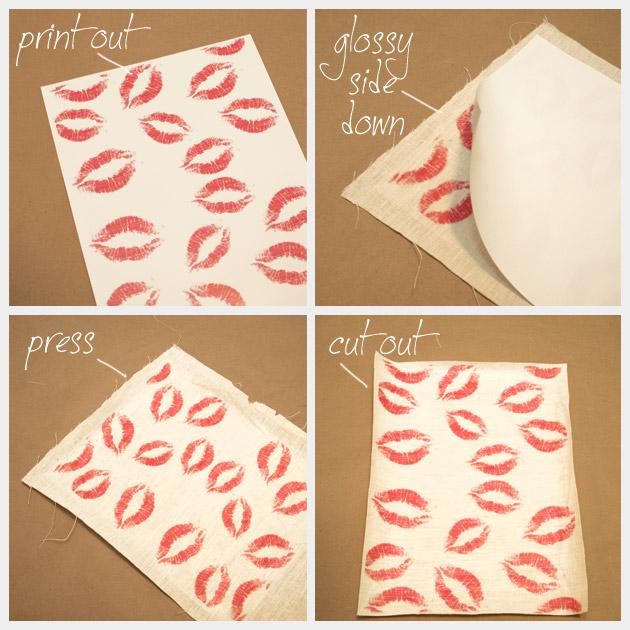 DIY Printed Make Up Bag FIlm