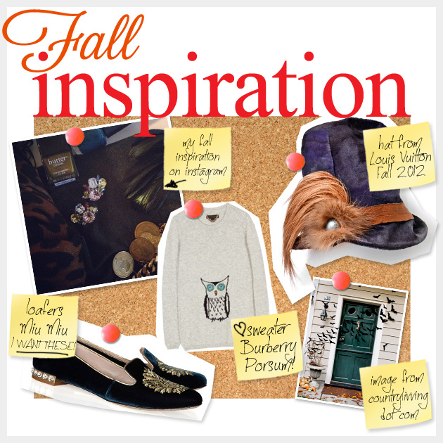 Fall Inspiration For DIY Fashion