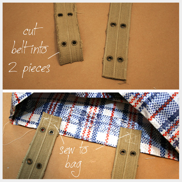 Market Bag DIY Straps
