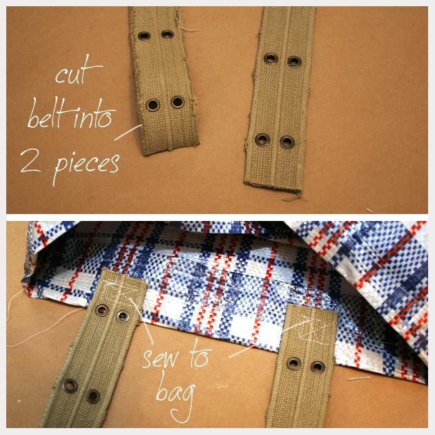 Market Bag DIY Straps