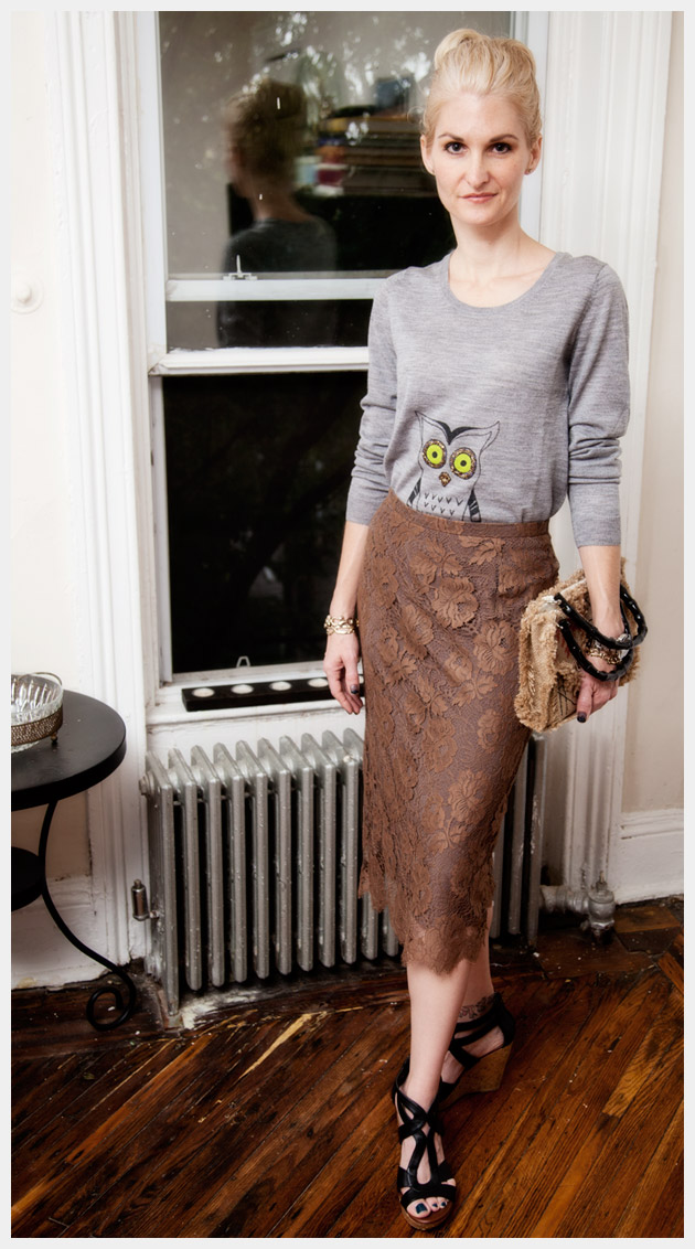 Owl Sweater DIY Photo