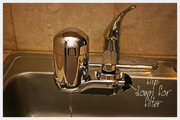 pur water filter usage