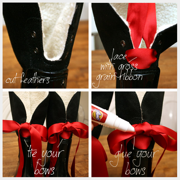 DIY Rain Boot Embellishment How To