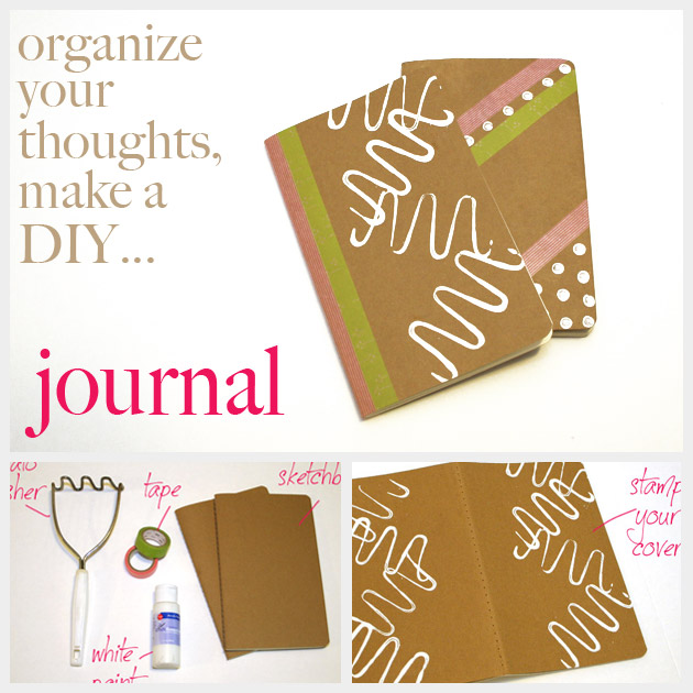 DIY Journal Feature