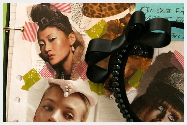 Beaded Bow Headband DIY Inspiration