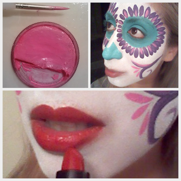 Day of the Dead Makeup 4
