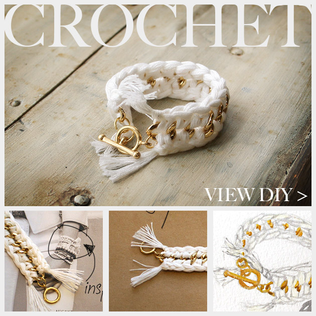 DIY Crochet Bracelet Feature