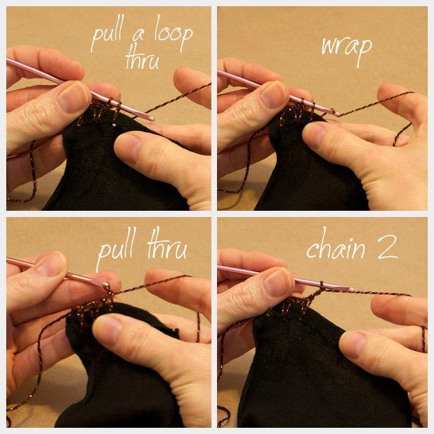 DIY Tassel Scarf Crochet 2a