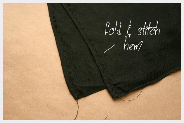 DIY Tassel Scarf Sewing