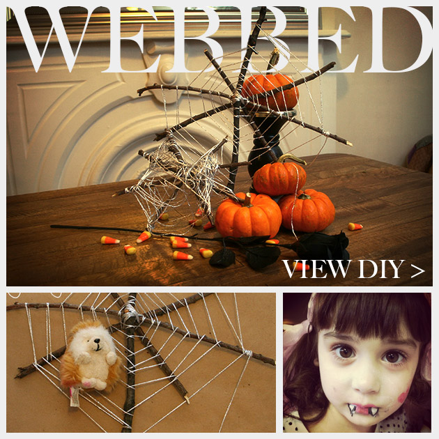 Halloween Spiderweb DIY Feature