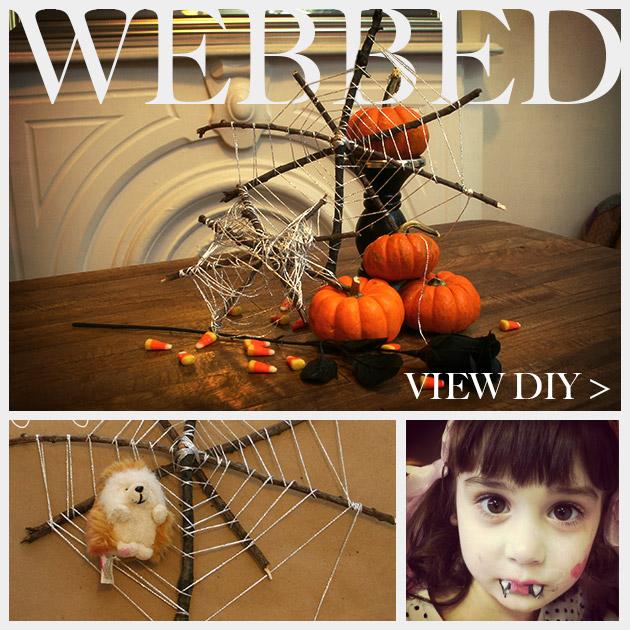 Halloween Spiderweb DIY Feature