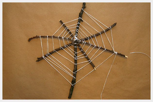 Halloween Spiderweb DIY Large