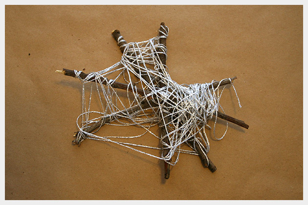 Halloween Spiderweb DIY Small