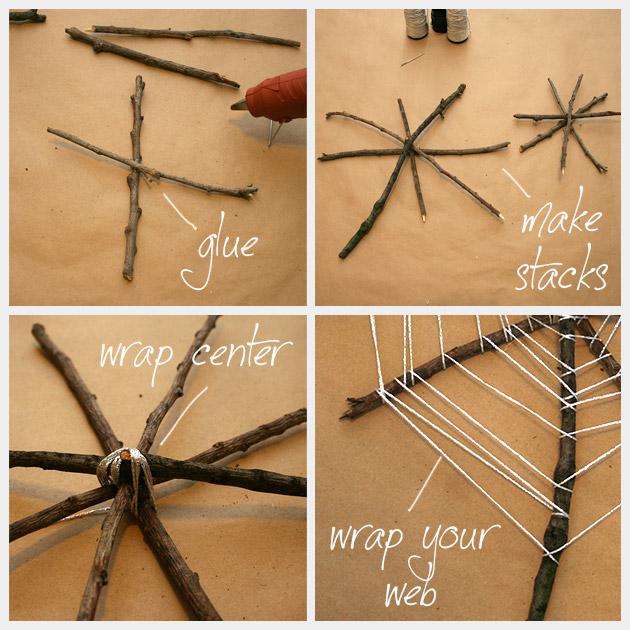 Halloween Spiderweb DIY How To