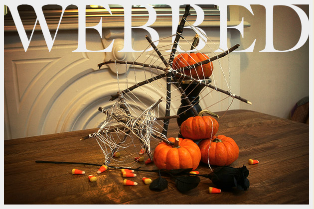 Halloween Spiderweb DIY