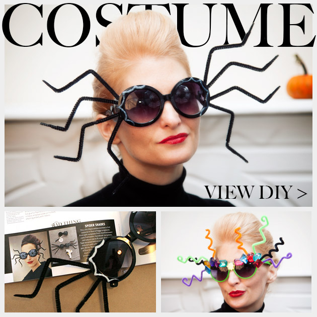 Halloween Sunglasses DIY Feature