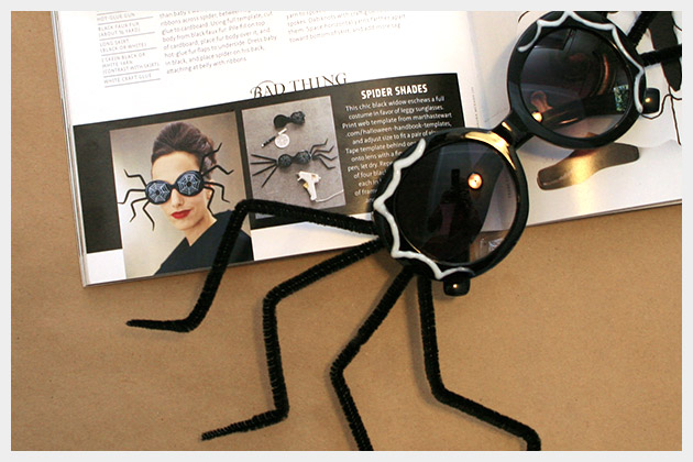 Halloween Sunglasses DIY Inspiration