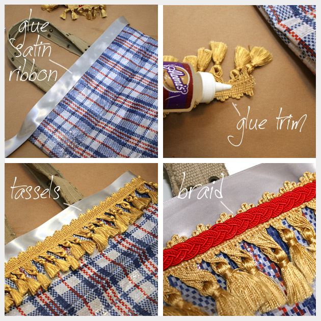 Market Bag DIY Trim